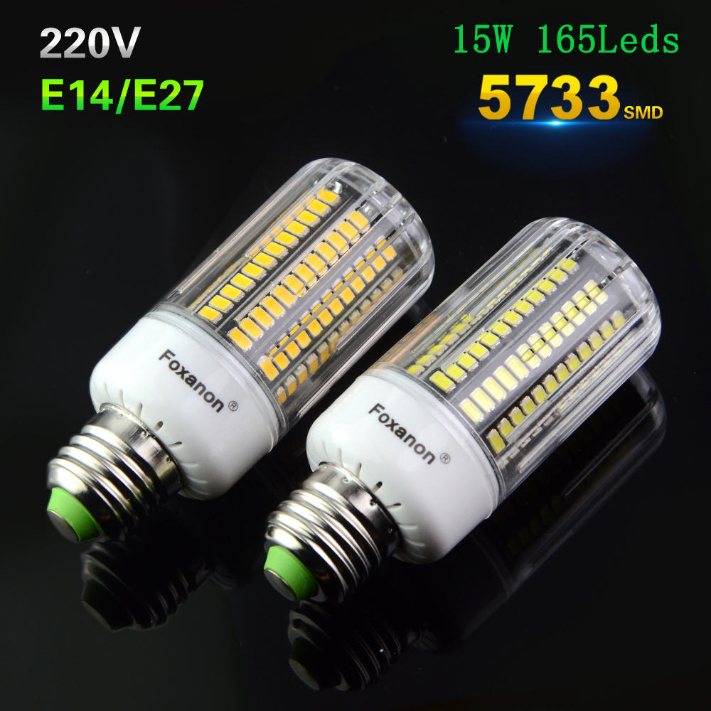 Buy hight bright 165leds lamp 5733 smd for Lampade a led e27