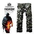 Macacões calças masculinas calças militares multi-bolso calças plus size solta casuais calças cargo Combate primavera e