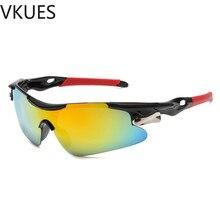 VKUES Sunglasses Men Colored Tough Sun Glasses Sport Fashion Anti Glare Outdoor Goggles Cyclist Driver Mirror
