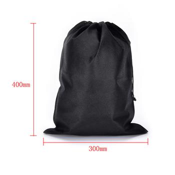 2 sztuk partia 300*400mm nie pleciona torba torby ze sznurkiem torby materiałowe pojemnik na buty odporny na kurz torby na buty tanie i dobre opinie LAKEBAO NYLON WOMEN travel drawstring bag