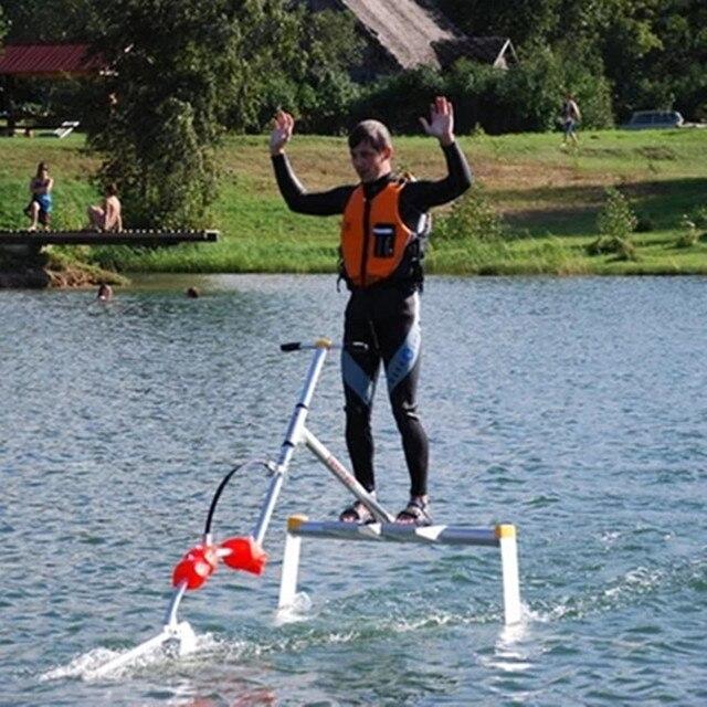 Вейкборд, водный велосипед, подводных крыльях, флаер на воде, воды скейтборд