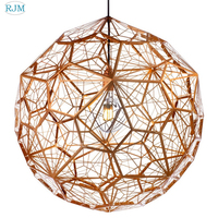Nordic simple modern creative personality pendant lamps multi faced Tom Dixon chandelier living room dining room bedroom bar