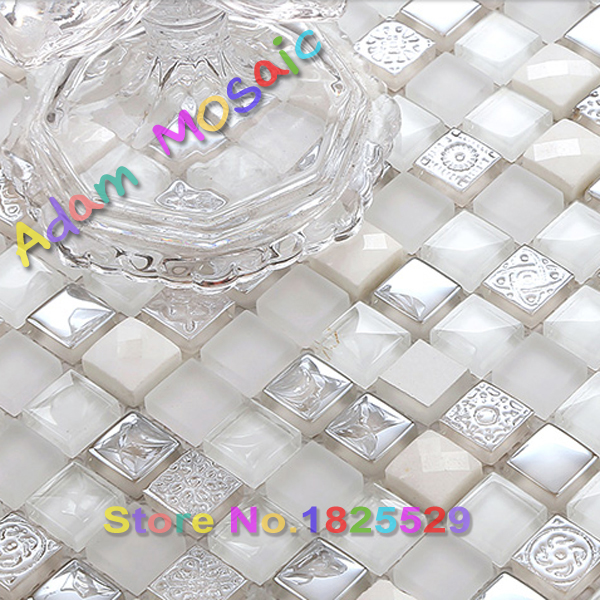 Incredible Us 189 24 White Stone Tile Mirror Glass Kitchen Backsplash Tile Frosted Bathroom Wall Tiles Matte Shower Room Countertop Ideas On Aliexpress Com Download Free Architecture Designs Scobabritishbridgeorg