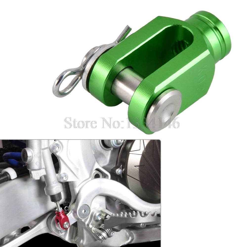 NICECNC Rear Brake Clevis For Kawasaki KX 80 85 100 KX125 KX250 D-TRACKER 125 KLX125 KLX150S KLX250 KLX 125 150S 250 1998-2018 front rear brake pads for suzuki rm 125 250 rm125 rm250 dr z 400 drz400 dr 650 kawasaki kx125 kx250 for honda xr400 xr400r xr440