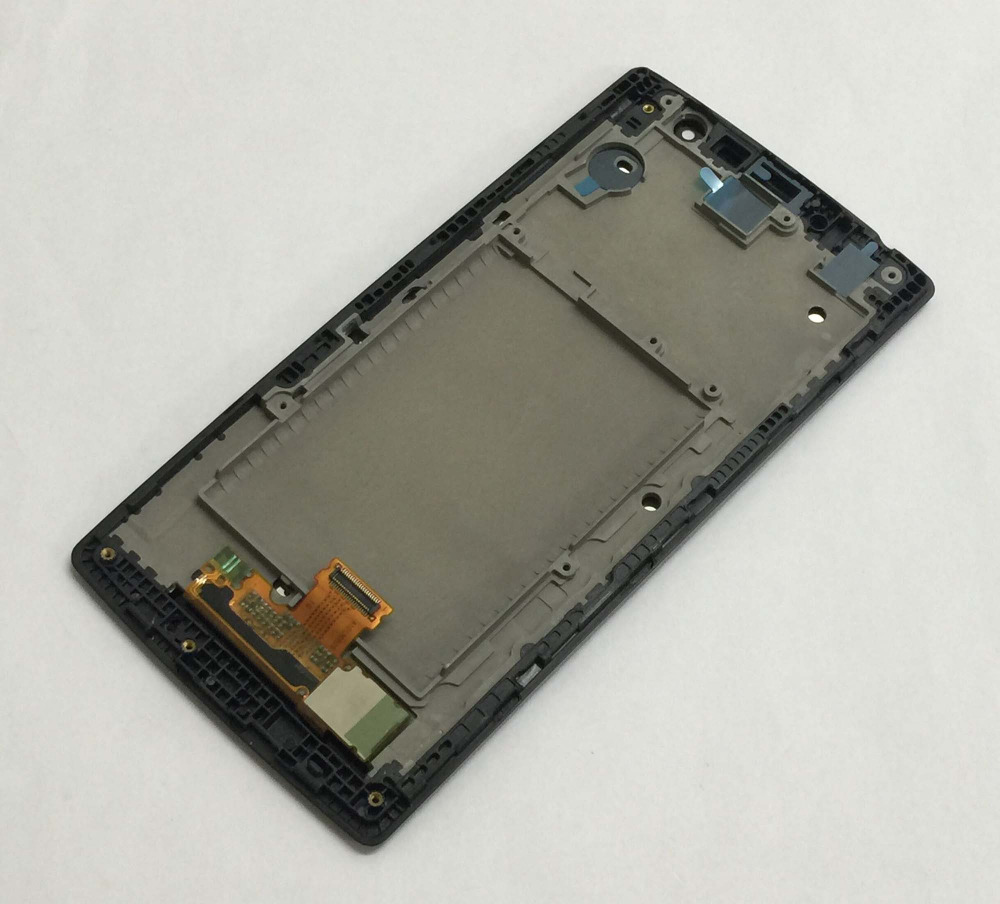 For LG G4c H525N H525 H522Y H520Y Black LCD Display Panel Monitor Module + Touch Screen Digitizer Sensor Assembly With Frame