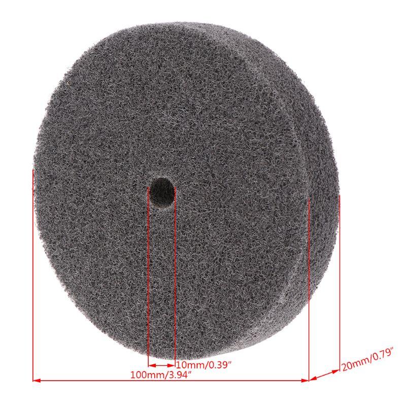 NEW Products 100mm Nylon Fiber Polishing Buffing Buffer Pad Grinding Disc Wheel Abrasive Tool
