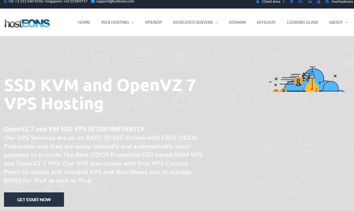 羊毛党之家 看配置还可以一看OVZ直接关网页-Hosteons:$12/年/256MB内存/5GB SSD空间/不限流量/OpenVZ/洛杉矶 https://yangmaodang.org