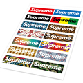 A4 Camouflage Supreme Car Styling Hellaflush Graffiti Doodle Sticker Auto Motorcycle Bike Laptop Skatboard Ipad Phone DIY Decals