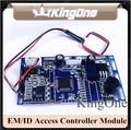 EM/ID Embedded RFID Puerta de Control de Acceso de Proximidad RFID Puerta de Control de Acceso del módulo 2000 usuarios