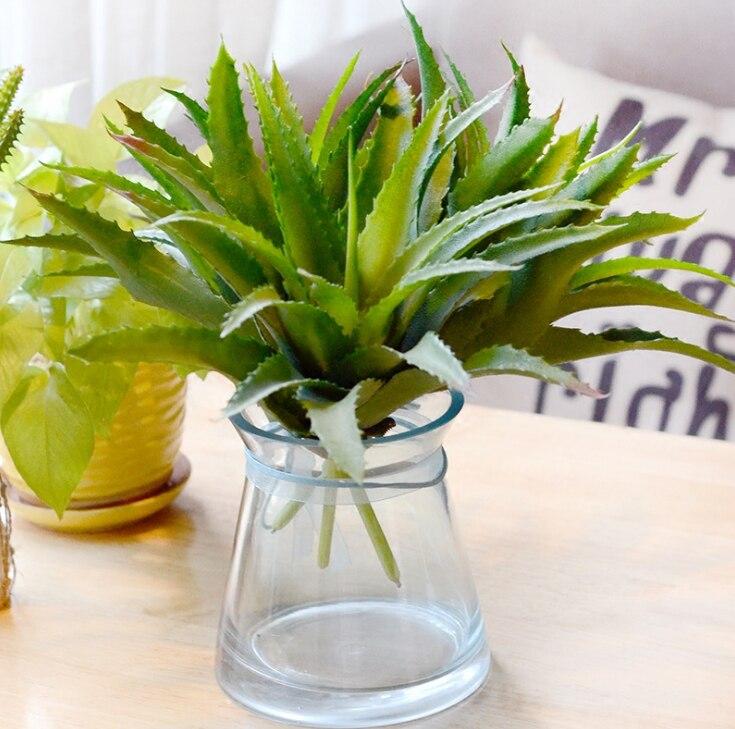 Large Fleshy Aloe Vera Artificial Flowers Succulents Micro