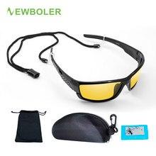 d2d0e83b44 NOUVEAUBOLER Lunettes De Pêche Nuit Version lunettes de soleil polarisées  homme femme Extérieure lunette de sport