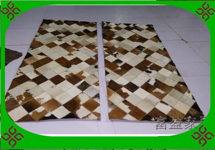 Fashionable art carpet 100% natural genuine cowhide leather tent carpetFashionable art carpet 100% natural genuine cowhide leather tent carpet