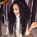 150density Thick Brazilian Hair Wig Kinky Curly Full Lace Human Hair Wigs Soft Natural Virgin Hair Lace Front Wig With Baby Hair