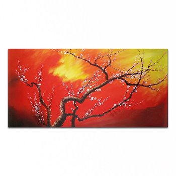 DONGMEI OILPAINTING  Hand painted oil painting Home decor High quality art painting flower pictures gift     DM15031331
