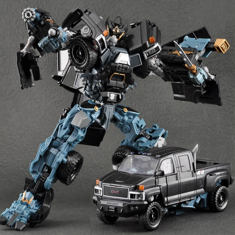 Robot Cars Transformation-Toys Model Action Figures Kids Toys Gifts Wei Jiang Cool Plastic