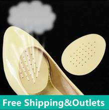 Half code pad for shoes forefoot pad high-heeled shoes pad thickening super-soft half yard pad pumps half insole