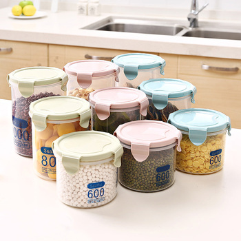 Airtight and Plastic Kitchen Container Set and Sealed Food Storage Box for Food Preservation