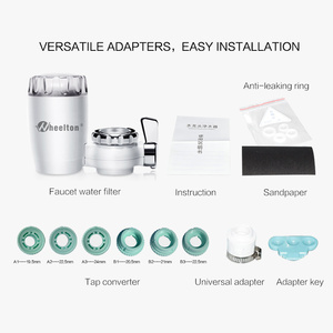 Image 5 - Wheelton Water Filter Faucet 8 Layers Purification Ceramic Activated Carbon&KDF And More Household Kitchen Water Purifier