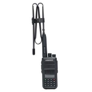 Image 5 - Abjessie conector macho de banda Dual, antena táctica plegable para Yaesu TYT Wouxun Walkie Talkie, 72cm/28,3 pulgadas de longitud, 144/430Mhz