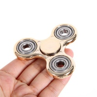 Multi Color Finger Spinner Fidget Metal EDC Hand Triangle Gyro For Autism/ADHD Anxiety Stress Relief Focus Toys Gift