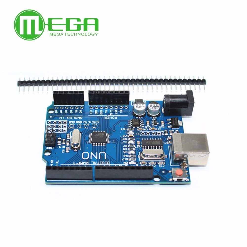 Image 3 - 1set UNO R3 MEGA328P CH340G NO  USB cable  Blue or Yellow for your choice-in Integrated Circuits from Electronic Components & Supplies