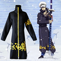 Trafalgar Law Cosplay costumes One Piece Costumes Adult Law Hoodies Anime ONE PIECE Clock Hat Halloween Party Clothing For Men
