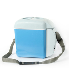 Мини Портативный 12 В автомобильные холодильники с 7.5L Термоэлектрический охладитель для автомобилей Путешествия пикники Кемпинг лодки офисы