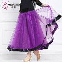 Customized Lady Ballroom Dancing Skirt Modern Dance Dress Waltz Valse Tango Galop Fox Trot Social Dance Dress Skirt B 2653