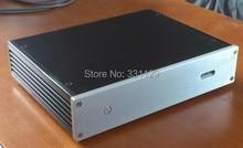 Brise audio-haute-fin 2806 décodeur châssis en aluminium match avec Weil Liang DAC7/DAC9/ES9018DAC/1541