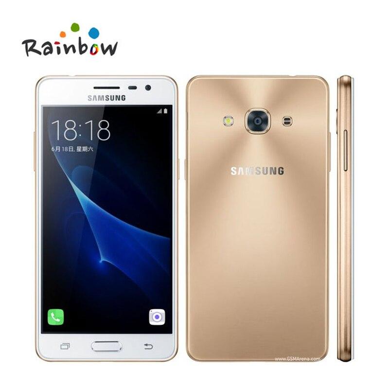 """Цена за Оригинальный Samsung Galaxy J3 Pro J3110 5.0 """"дюймов 2 ГБ RAM 16 ГБ ROM FDD LTE Quad Core 2600 мАч Dual Sim Смартфон С NFC"""