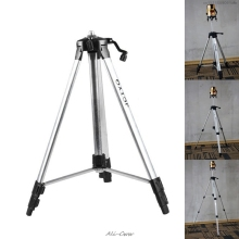 цена на 150cm Tripod Carbon Aluminum With 5/8 Adapter For Laser Level Adjustable