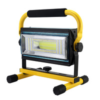 New USB charging treasure flood light Portable outdoor portable work light far and near light adjustable flood light