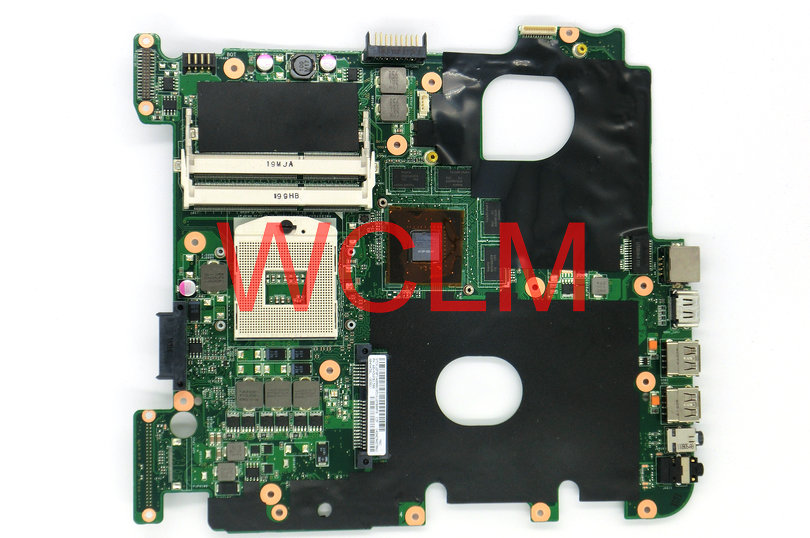 free shipping NEW brand original N43SL laptop motherboard MAIN BOARD 60-N3WMB1300 GT540M N12P-GS-A1 100% Tested Working Well free shipping brand original k55vm laptop motherboard main board 69n0m2m11c06 100% tested working well