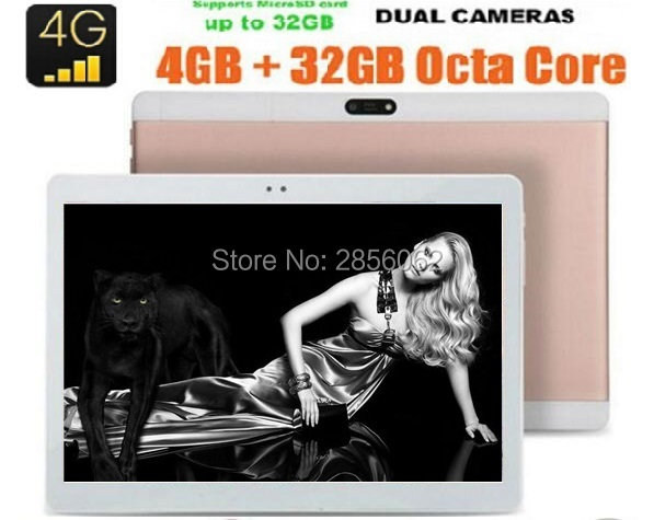 Free Shipping 10 inch Tablet PC MTK8752 Android 6 0 Octa Core 4GB RAM 64GB ROM