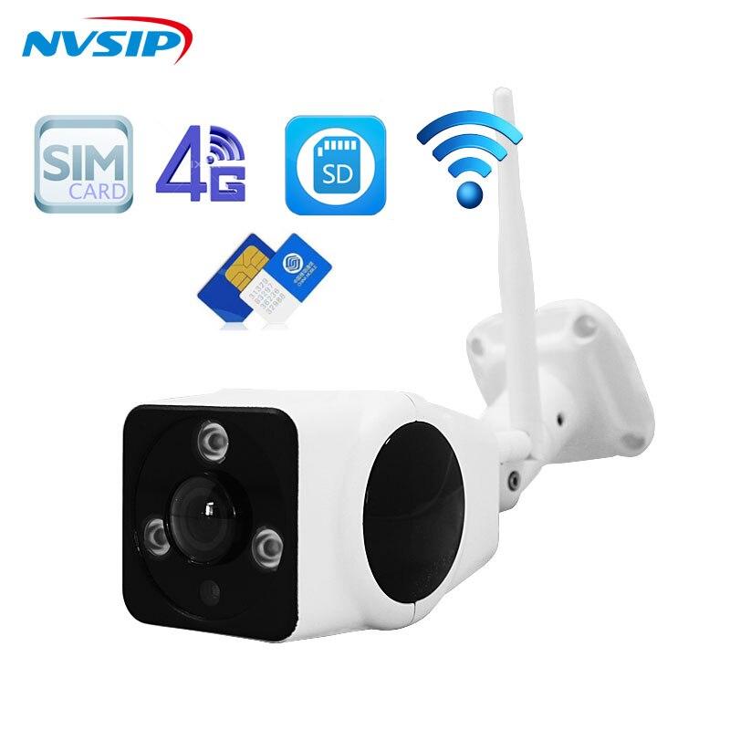 Full HD 1080P HD Bullet IP Camera font b Wireless b font GSM 3G 4G SIM