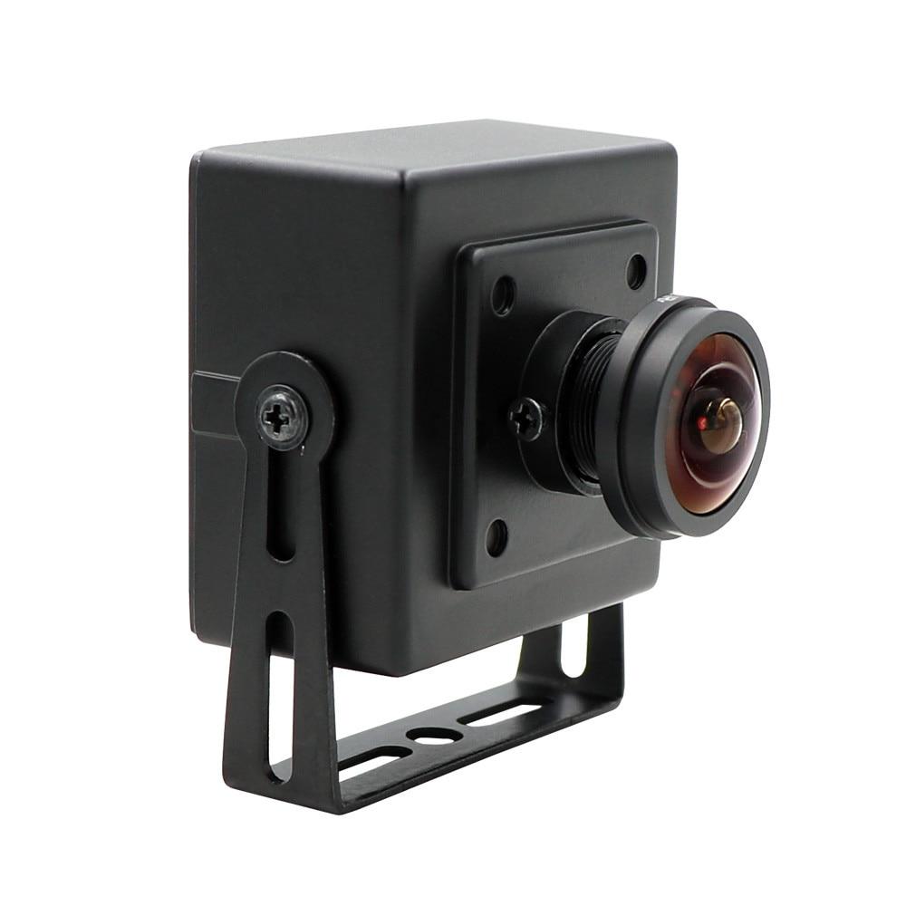 Fisheye Wide View Angle 180 Degree 1.3MP Aptina AR0130 Webcam OTG UVC Plug Play Driverless USB Camera With Mini Case
