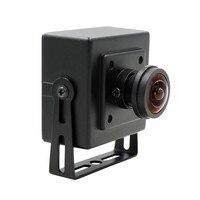 Olho de peixe Grande Ângulo de Visão de 180 graus 1.3MP Aptina AR0130 Webcam UVC Plug Play Driverless USB Camera com Mini Caso OTG