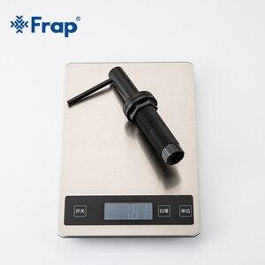 Image 5 - Frap שחור נירוסטה נוזל סבון Dispenser מטבח כיור יד סבון Dispenser ABS פלסטיק בקבוק מטבח Accessorie Y35001 1