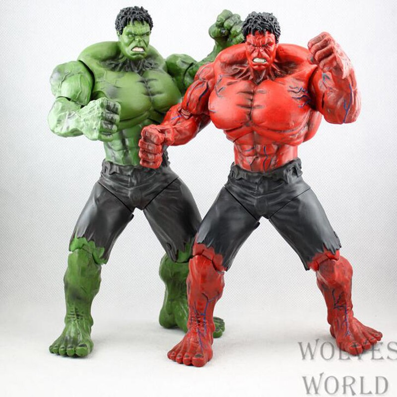 Japan anime Red Hulk Action Figure The Avengers Hulk PVC children christmas gifts doll Figure Collectible Model Toy T5821 japan anime neca devil may cry dante pvc christmas christmas gifts doll action figure collectible model toy t5841