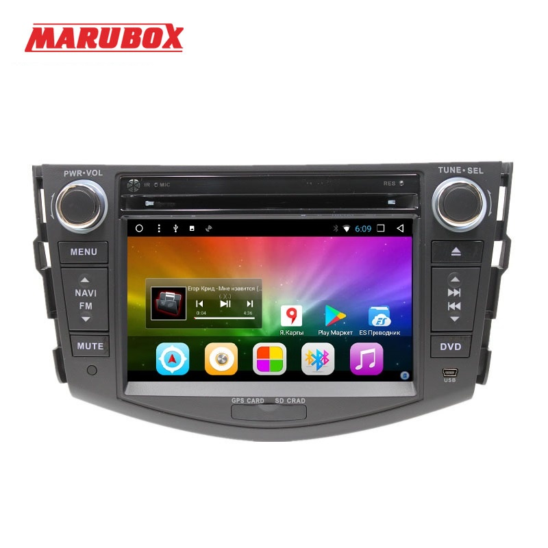 MARUBOX 7A106DT8 Car Multimedia Player for Toyota RAV4 2005 2013 Octa Core 1024 600 Android 8