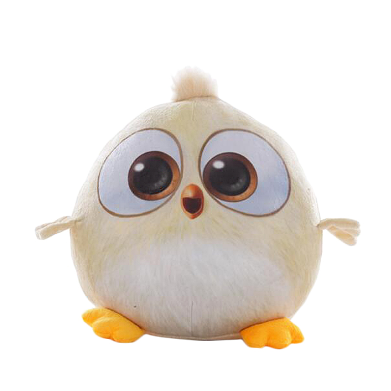 RUBIHOME 1 Piece Plush Cushion Gift Toys Colored Bird Doll New Cute Design Chiken Throw Pillows with Inner Filled