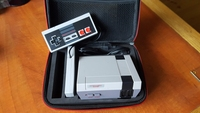 Balck Hard Carrying Case For Mini TV Classic Edition Console Travel Storage Bag For Nintendo For