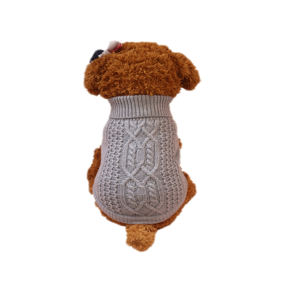 Clothes For Small Dogs Pet Dog Sweater For Small Dogs Puppies 2 Colours 3 Sizes Clothes Small Dogs