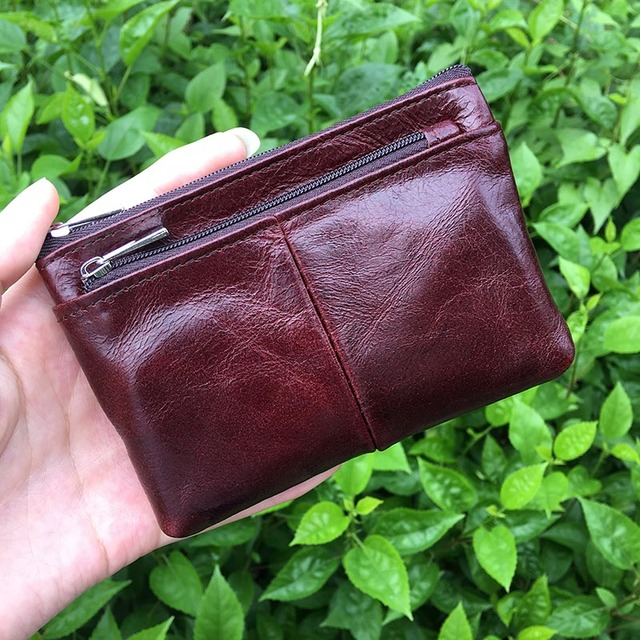 2017 Women Wallet Small Short Genuine Leather Wallet Female Coin