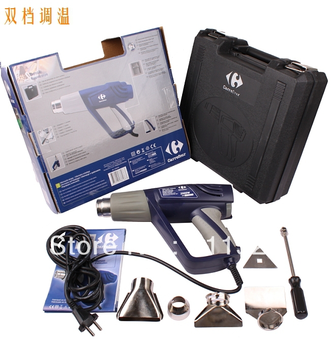 heat gun with 2000w 4different type spray mouth at good price and export to brazil showdown at gun hill