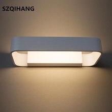 High Quality Modern minimalist LED aluminum lamp bedside wall room bathroom mirror light direct creative aisle