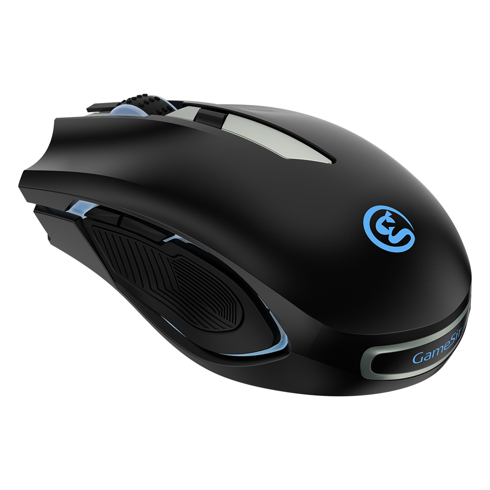 GameSir GM100 USB Wired RGB Gaming Mouse Compatible with Windows Vista/7/8/10, Mac OS and GameSir X1 BattleDock/Z1 Gaming Keypad ...