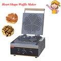 Электрическая форма в форме сердца вафельница Мини плед торт печь нагревательная машина FY-215