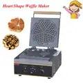 Электрическая форма в форме сердца вафельница Мини плед торт печь нагревательная машина FY 215