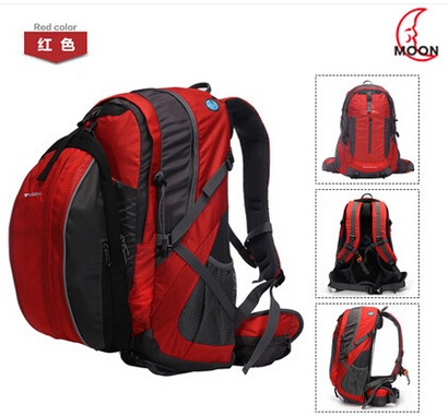 MOON riding bicycle backpack Capacity air picture mountain bike riding equipment package bag large capacity 40l rainproof riding backpack bicycle bag pack equipment sport outdoor hiking mountain bike backpack rucksack